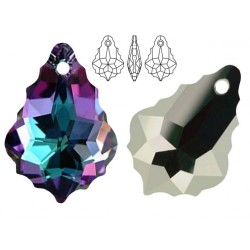 Swarovski 6090 Baroque 16mm Vitrail Light
