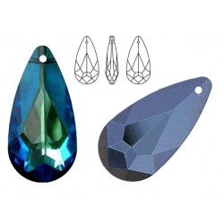Swarovski 6100 Teardrop 24mm Bermuda Blue