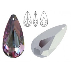 Swarovski 6100 Teardrop 24mm Vitrail Light