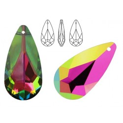 Swarovski 6100 Teardrop 24mm Vitrail Medium