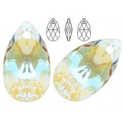 Swarovski 6106 Pear-shaped 16mm Crystal Blue AB