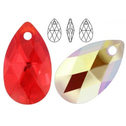 Swarovski 6106 Pear-shaped 22mm Light Siam AB