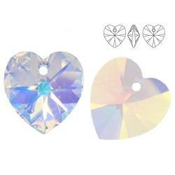 Swarovski 6228 Heart 10mm Crystal AB