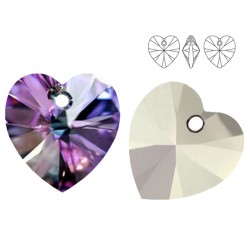 Swarovski 6228 Heart 10mm Vitrail Light