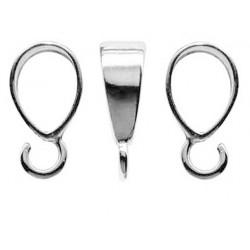 Krawatka srebrna Swarovski (KR14)