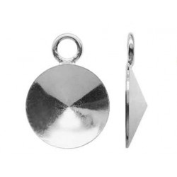 Krawatka srebrna do Rivoli 8mm (KR15)