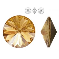 Swarovski 1122 Rivoli 8,3mm Golden Shadow F