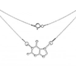 STERLING SILVER TEOBROMIN NECKLACE
