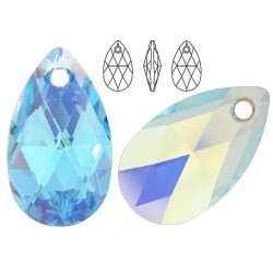 Swarovski 6106 Pear-shaped 16mm Aquamarine AB