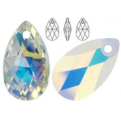 Swarovski 6106 Pear-shaped 16mm Crystal AB