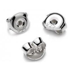 Zatyczki baranki srebrne  1 para (ZB1)