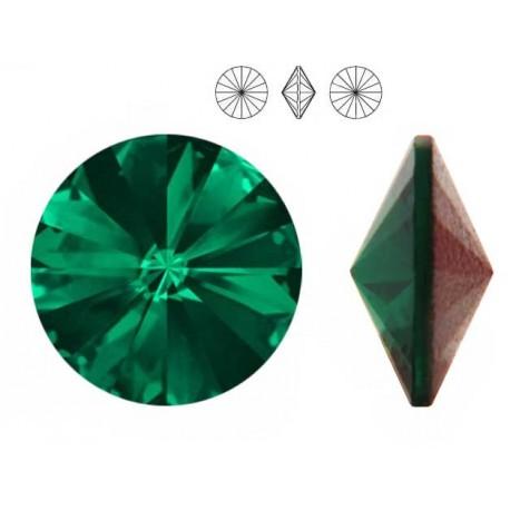 Swarovski 1122 Rivoli 8,3mm Emerald F