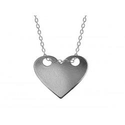 Naszyjnik celebrytka srebro 925 - serce