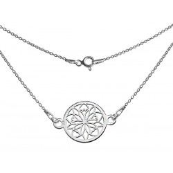 STERLING SILVER SEROTONIN NECKLACE